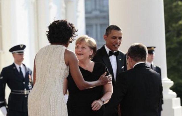 Angela Merkel tem uma coisa para Michelle Obama 04