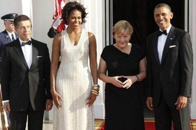 Angela Merkel tem uma coisa para Michelle Obama 07