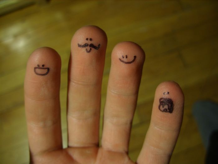 O que seus dedos fazem quando não está olhando 14