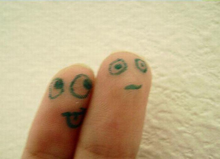 O que seus dedos fazem quando não está olhando 26
