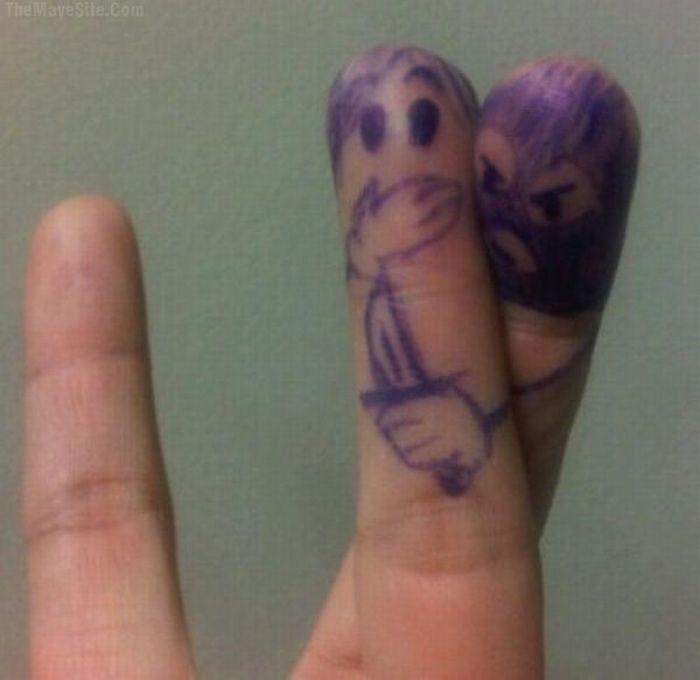 O que seus dedos fazem quando não está olhando 43