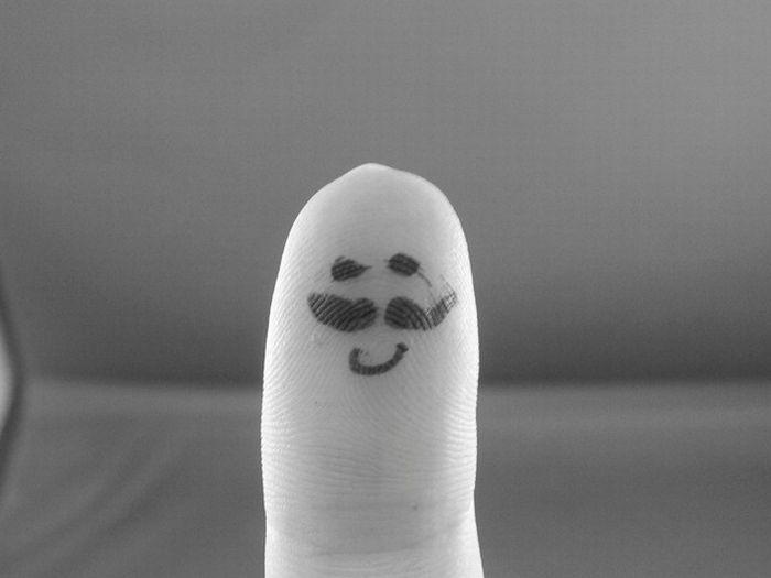 O que seus dedos fazem quando não está olhando 45