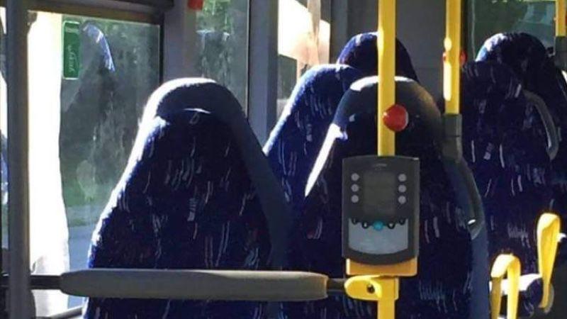 Grupo norueguês do Facebook ataca assentos de ônibus vazios porque pensaram se tratar de mulheres de burca