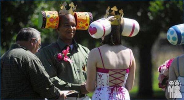 Os casamentos mais estranhos e criativos 10