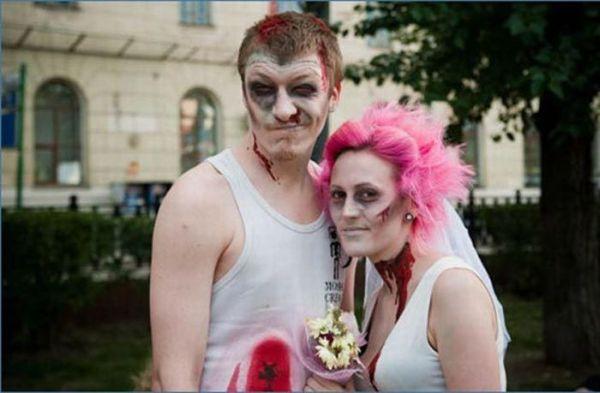Os casamentos mais estranhos e criativos 14
