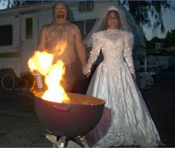 Os casamentos mais estranhos e criativos 22