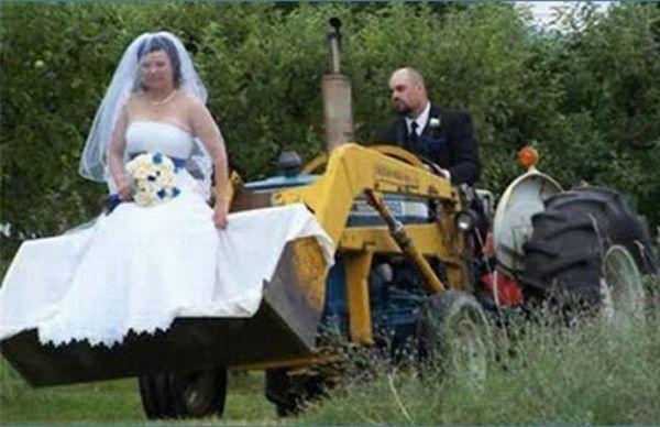 Os casamentos mais estranhos e criativos 36