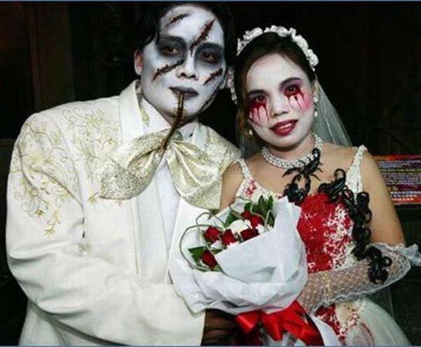 Os casamentos mais estranhos e criativos 45