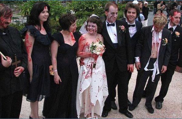 Os casamentos mais estranhos e criativos 47
