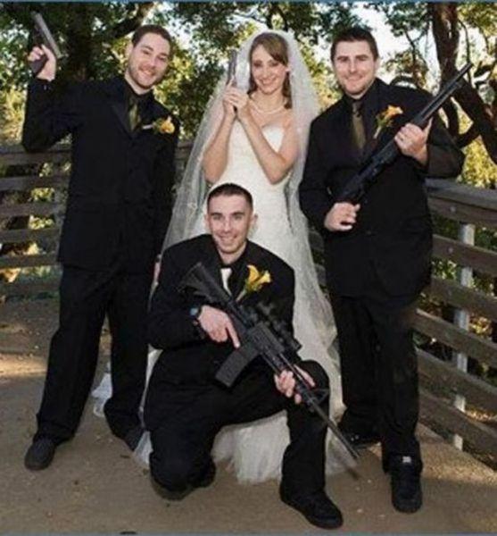 Os casamentos mais estranhos e criativos 48