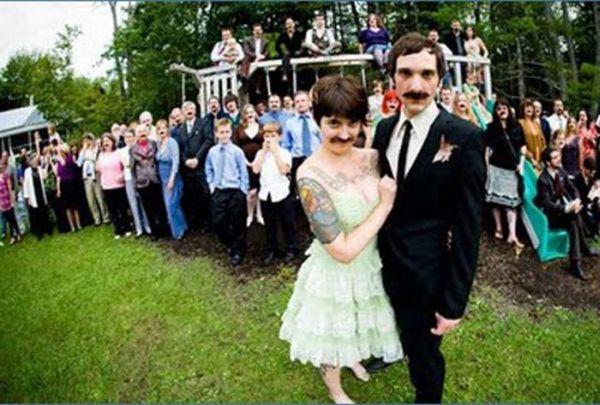 Os casamentos mais estranhos e criativos 53