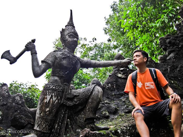 Diversão com estátuas 33