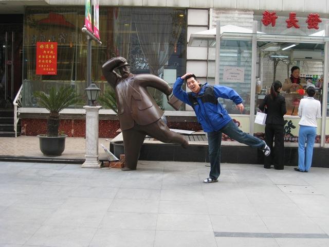 Diversão com estátuas 54