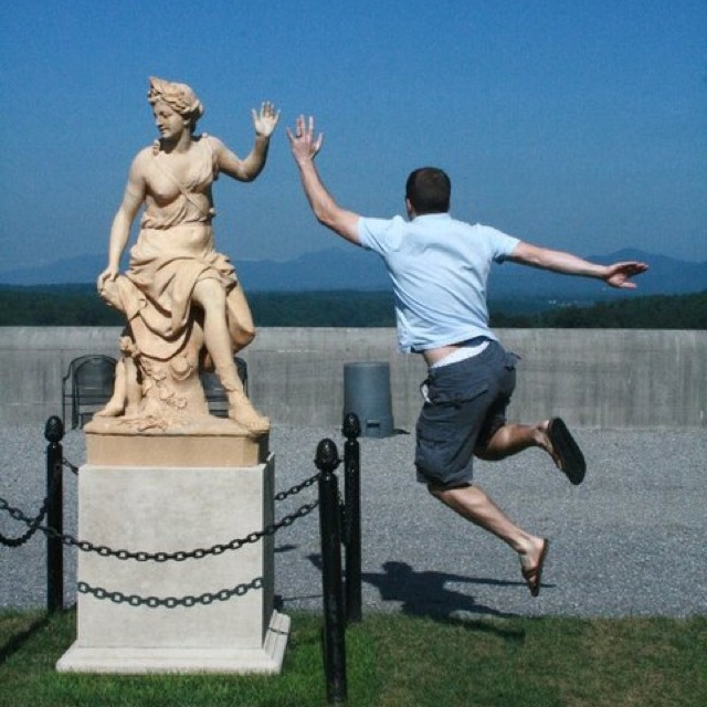 Diversão com estátuas 55