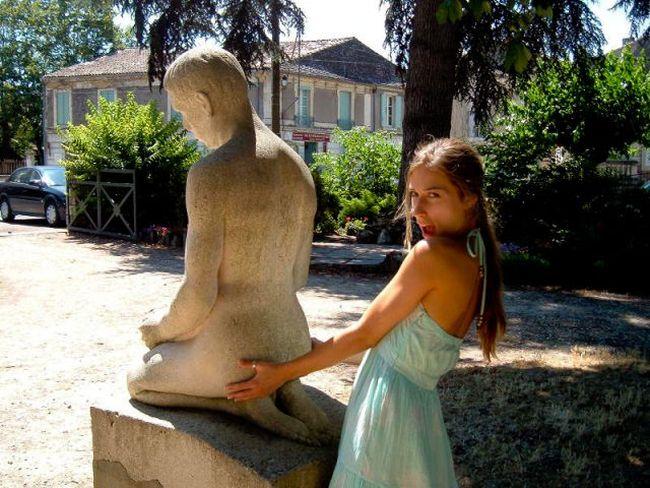 Diversão com estátuas 59