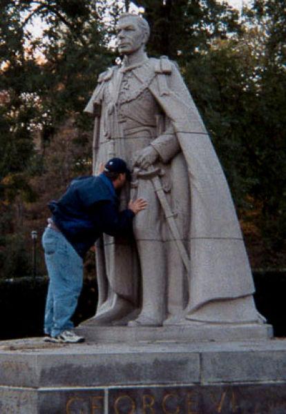 Diversão com estátuas 68