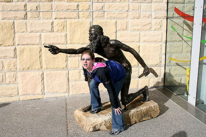 Diversão com estátuas 74