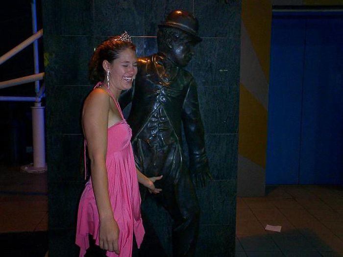 Diversão com estátuas 87