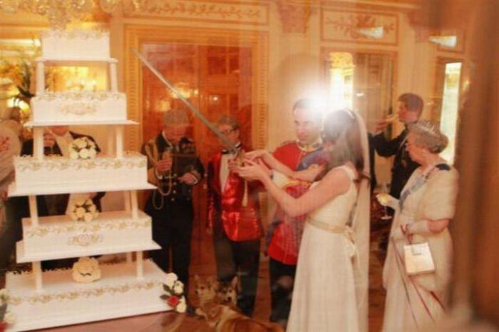 Flagras da festa do casamento real 06