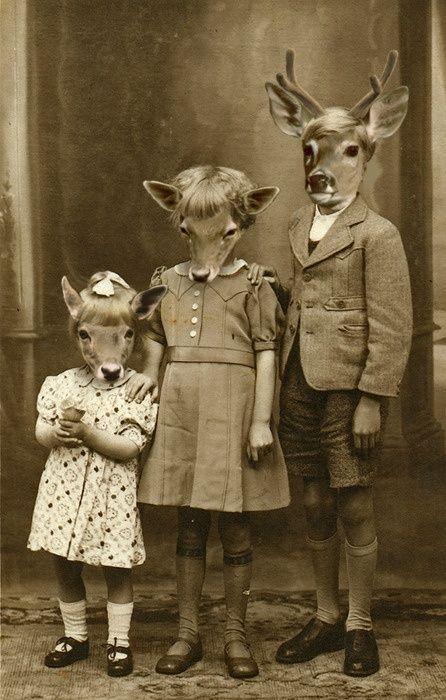 Fotos antigas estranhas e engraçadas 3 30