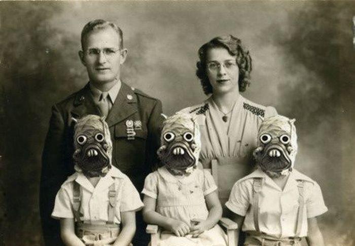 Fotos antigas estranhas e engraçadas 3 41