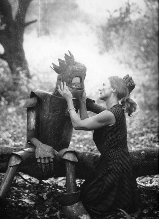 Fotos antigas estranhas e engraçadas 4 55