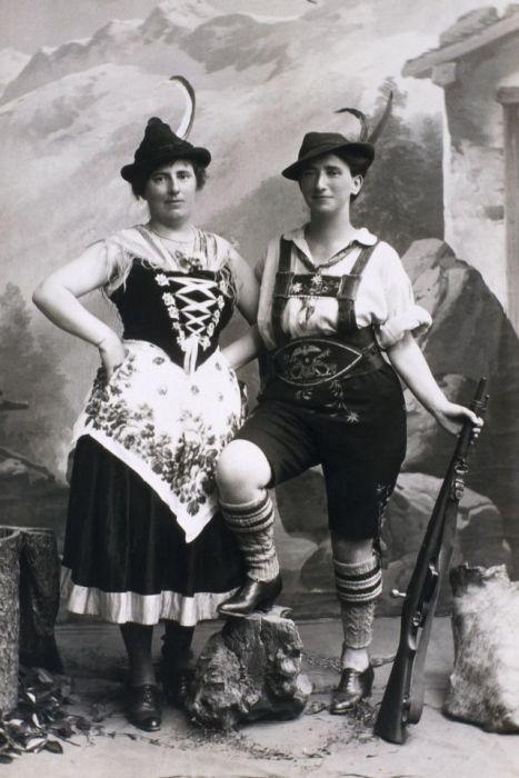 Fotos antigas estranhas e engraçadas 10