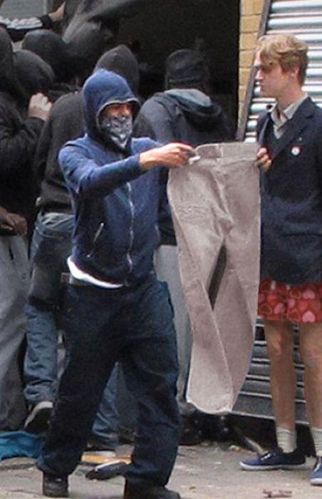 Imagens fotochopadas dos saqueadores de Londres 20