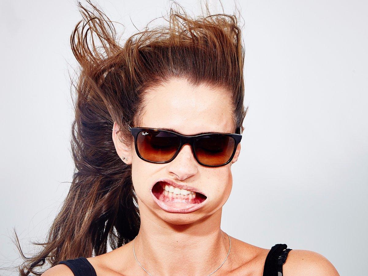 Assim ficaria sua selfie com ventos de 300 km/h 11