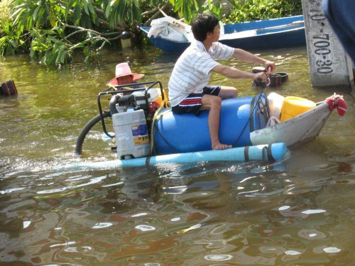 Tailândia está pronta para uma nova inundação 03
