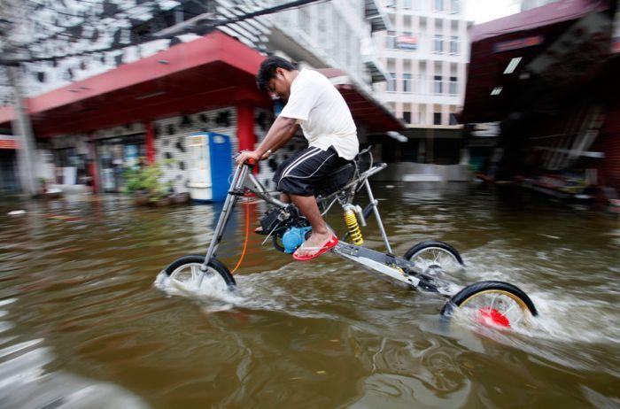 Tailândia está pronta para uma nova inundação 04