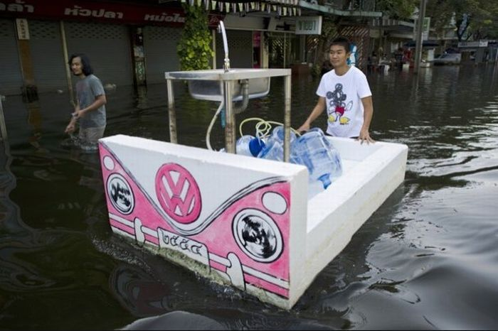Tailândia está pronta para uma nova inundação 05