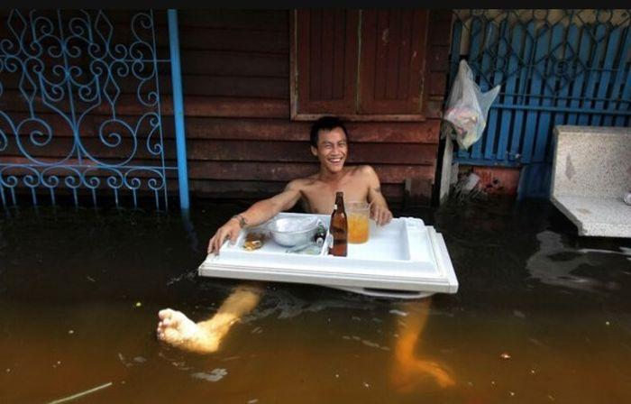Tailândia está pronta para uma nova inundação 06
