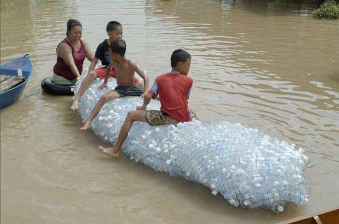 Tailândia está pronta para uma nova inundação 07