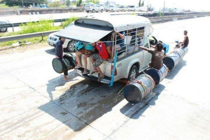 Tailândia está pronta para uma nova inundação 09