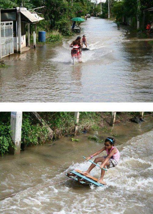 Tailândia está pronta para uma nova inundação 12