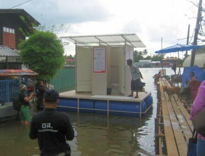 Tailândia está pronta para uma nova inundação 13