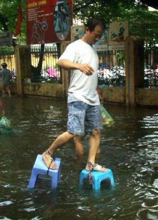 Tailândia está pronta para uma nova inundação 15