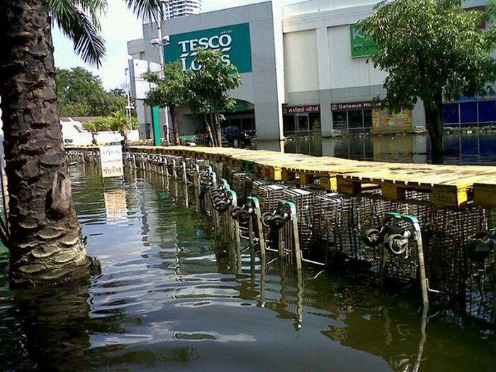 Tailândia está pronta para uma nova inundação 16