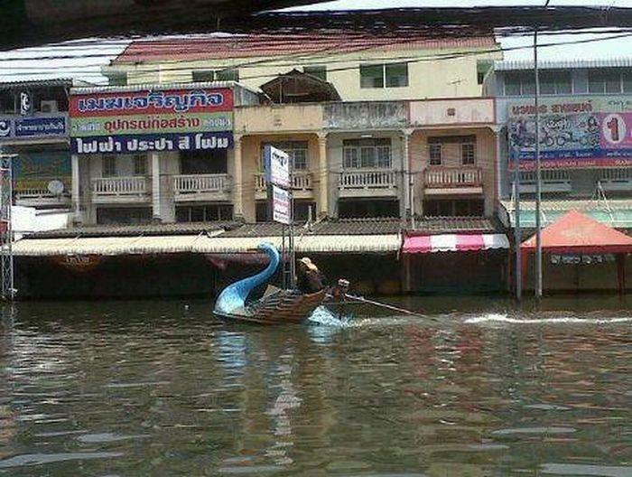 Tailândia está pronta para uma nova inundação 17