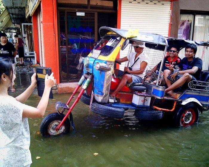 Tailândia está pronta para uma nova inundação 19