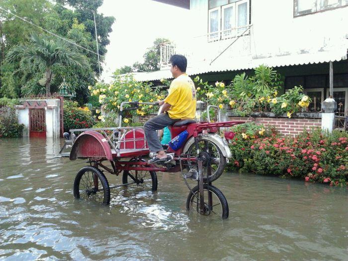 Tailândia está pronta para uma nova inundação 20