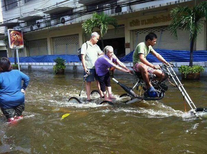 Tailândia está pronta para uma nova inundação 21