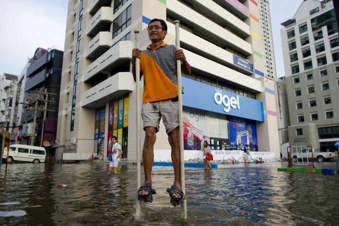 Tailândia está pronta para uma nova inundação 22