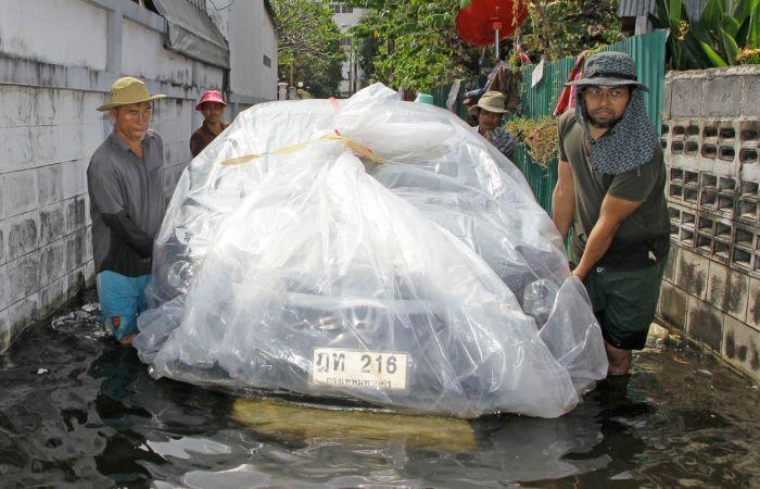Tailândia está pronta para uma nova inundação 23
