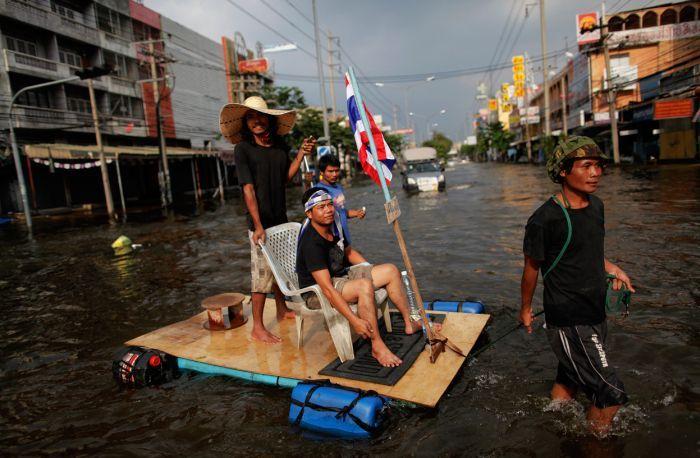 Tailândia está pronta para uma nova inundação 24