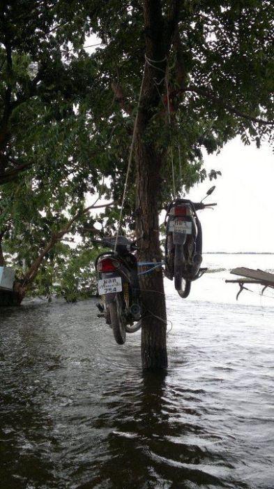 Tailândia está pronta para uma nova inundação 26