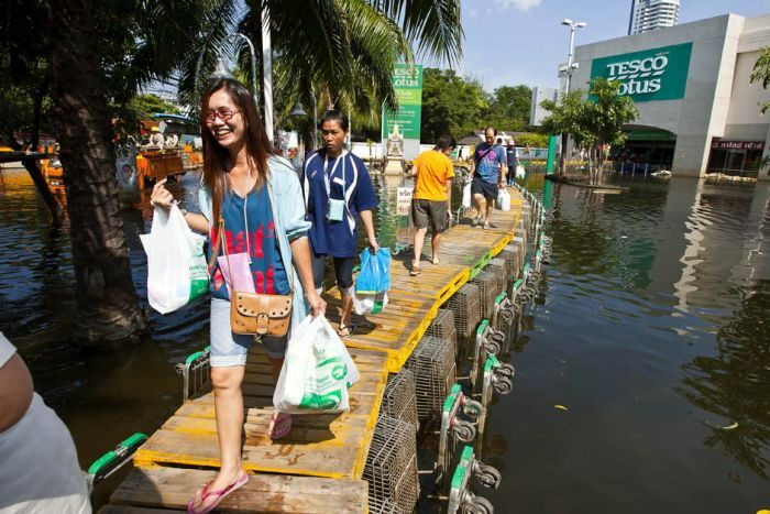 Tailândia está pronta para uma nova inundação 29