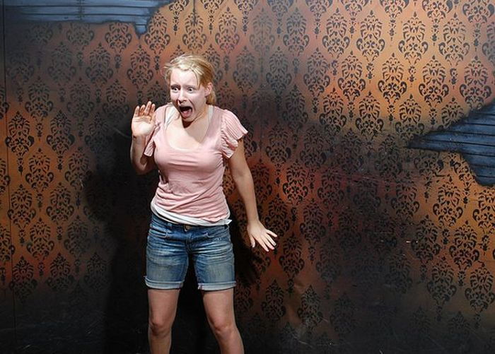 Visitantes da casa assombrada foram fotochopados 33