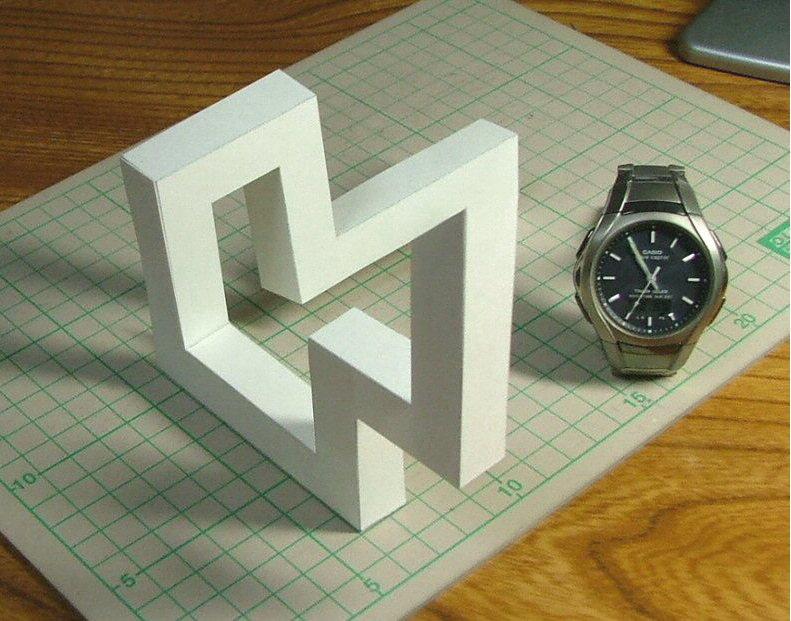 Ilusão de Óptica 3D